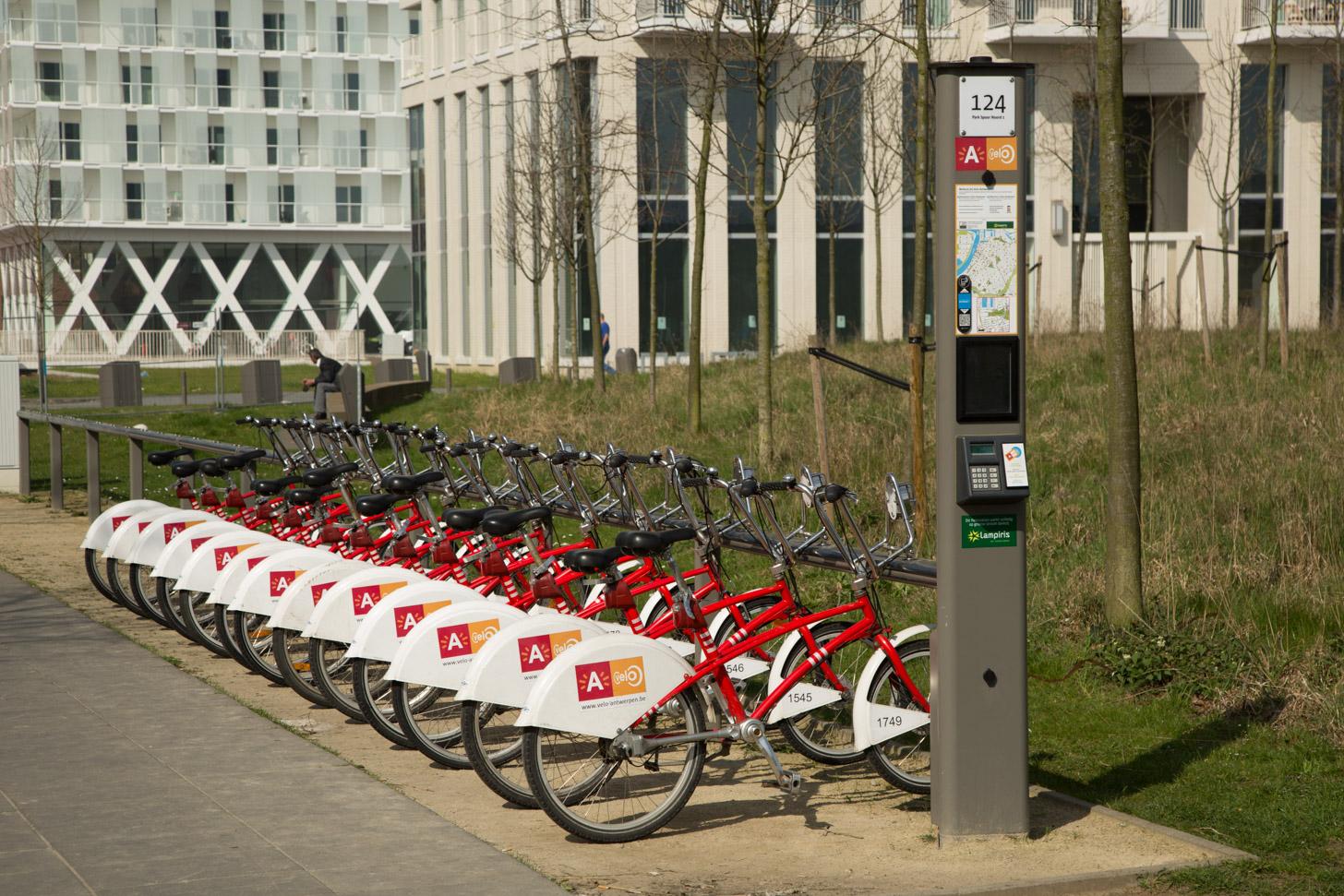 fietsen in Antwerpen