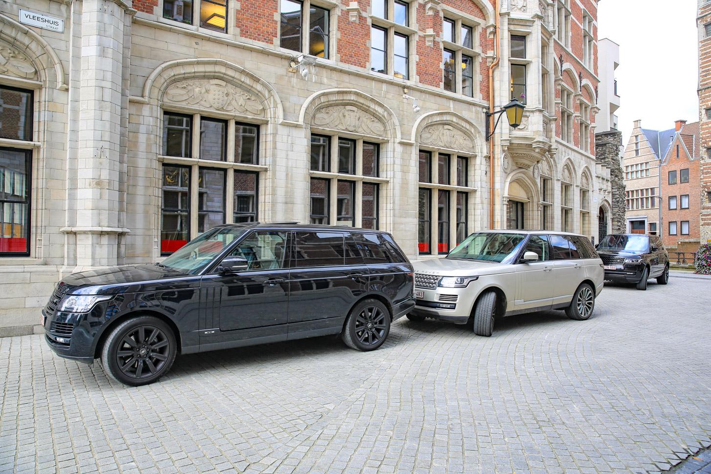 Met de auto naar Antwerpen